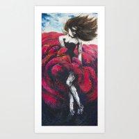 Flamenco VIII Art Print