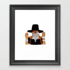 Queen Bey Formation Lemonade Framed Art Print
