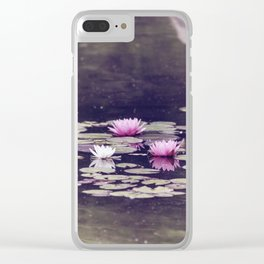 LOTUS I Clear iPhone Case