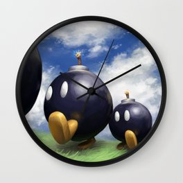 Bob-omb Battlefield Wall Clock