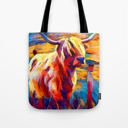Highland Cow 4 Tote Bag