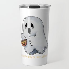 Cute Funny Ghost Halloween Scares Me product Travel Mug