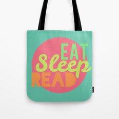 Eat. Sleep. Read Tote Bag