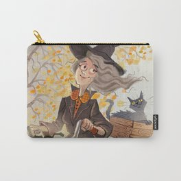Witch and Bike Carry-All Pouch