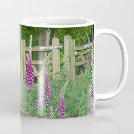 Woodland Gate Foxgloves  Coffee Mug