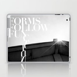 from follow fun Laptop & iPad Skin