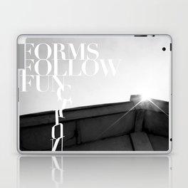 from follow fun Laptop & iPad Skin