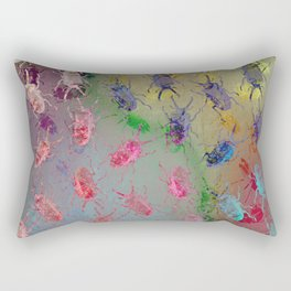 shiny stag beetles Rectangular Pillow