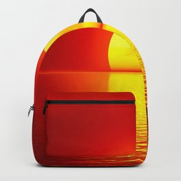 sun set home decor Backpack