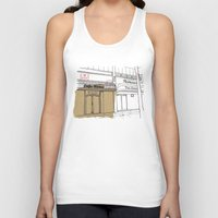 cafe Tank Tops featuring Cafe Roma. by Tayler Willcox