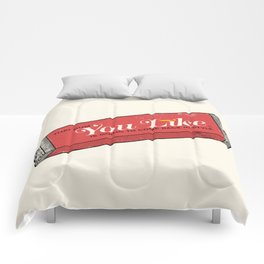 That gum you like is going to come back in style. Comforters