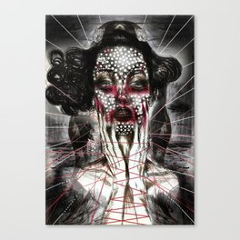 Black Siren Canvas Print