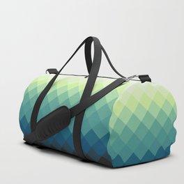 Elegant Blue-Green Duffle Bag