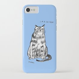 I'm a delight iPhone Case