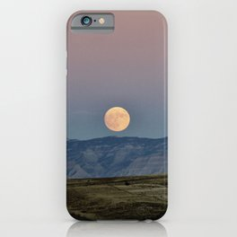 Colorado Supermoon iPhone Case