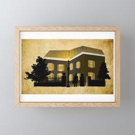 """""""The Exorcist"""" Home Illustration Framed Mini Art Print"""