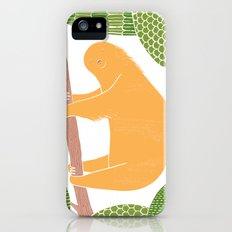 Sleepy Happy Sloth iPhone (5, 5s) Slim Case
