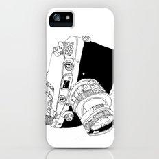 Camera Drawing Slim Case iPhone (5, 5s)