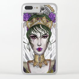 Love Jest Clear iPhone Case