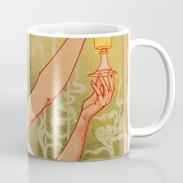 Classic French art nouveau Absinthe Robette Coffee Mug
