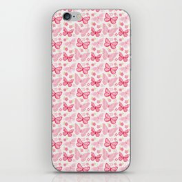 Butterfly Pink Group Of Butterflies iPhone Skin