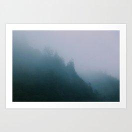 ☾ Kitsche Me Not ☽ Art Print