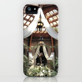 Biltmore Estate Solarium iPhone Case