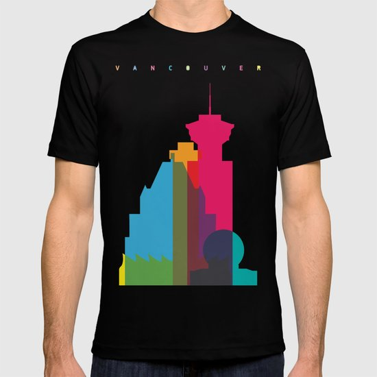 Shapes of Vancouver. Accurate to scale. T-shirt