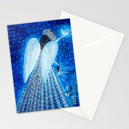 Angel Auriel Stationery Cards