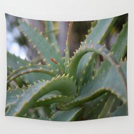 Aloe Vera Leaves  Wall Tapestry