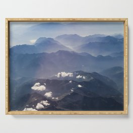 Alps view Serving Tray