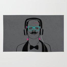 Hipsterstein /gray Rug