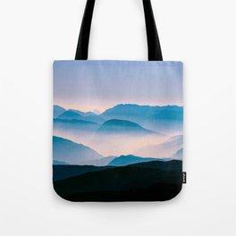 Pale Morning Light Tote Bag