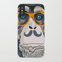 monkey iPhone & iPod Cases featuring Monkey! by  Steve Wade (Swade)