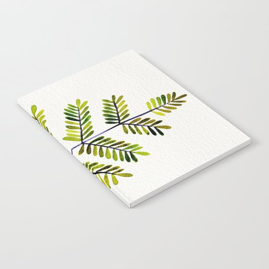 Green Leaflets Notebook