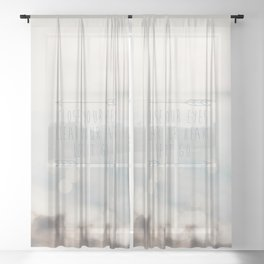 close your eyes ... clear your heart ... let go Sheer Curtain