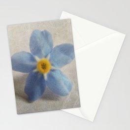 Myosotis 'Forget-me-not'- Single Flower Stationery Cards