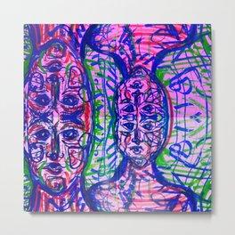 androgynous landscape Metal Print