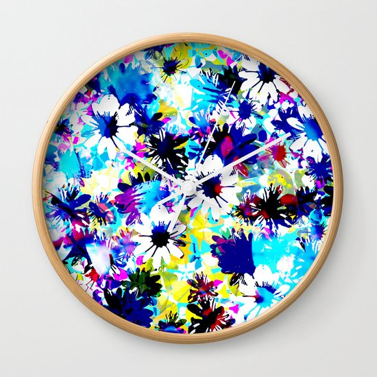 Floral 2 Wall Clock