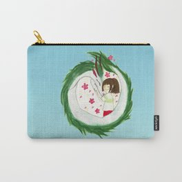 Watercolor Spirited Away - The Love Gathering Carry-All Pouch