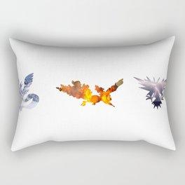 The 3 Legendary Birds Rectangular Pillow