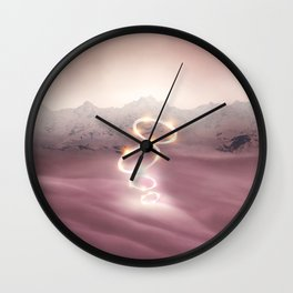 2077 landscape V Wall Clock