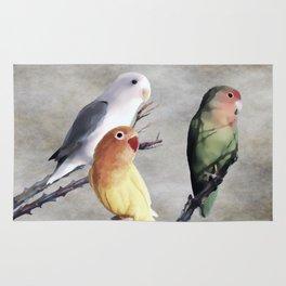 Lovebirds Rug