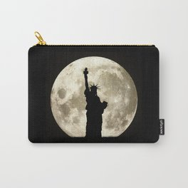 Full Moon Liberty Silhouette  Carry-All Pouch