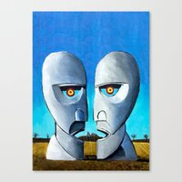 floyd Canvas Prints featuring Floyd canvas by Raqueldraw