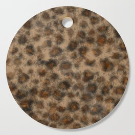 Fuzzy Leopard Cutting Board