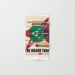 NASA Visions of the Future - The Grand Tour, a Once in a Lifetime Getaway Hand & Bath Towel