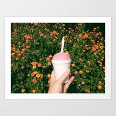 Ice Cream Dream  Art Print