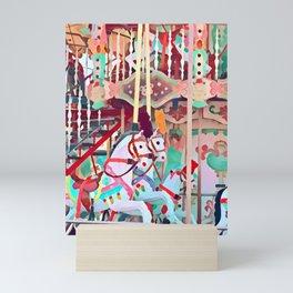 Dancing Horses Mini Art Print