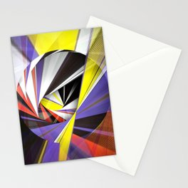 Mondrian's Makeover Stationery Cards